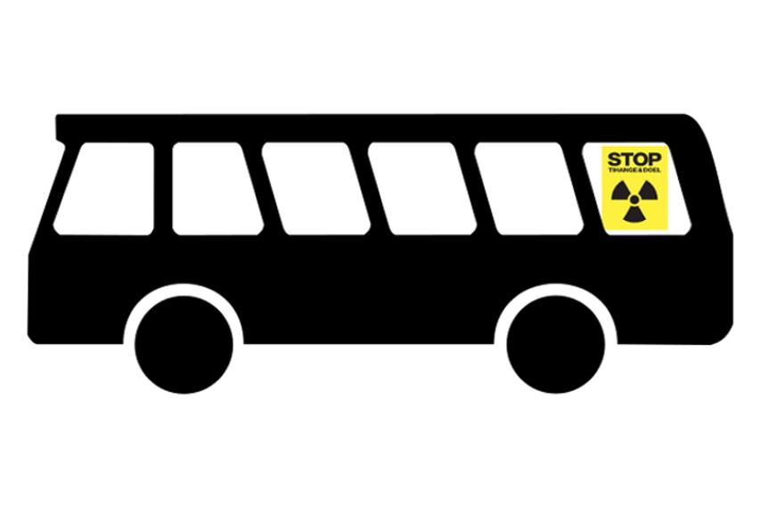 Bus zur Kettenreaktion Tihange @ HBF Bielefeld | Bielefeld | Nordrhein-Westfalen | Deutschland